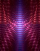 Fractal pulses conceptual illustration.
