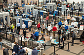 Security screening at an airport