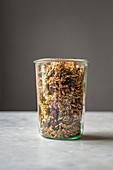 Homemade grain free granola