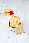 Butter-Almond Cookies