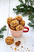 Cornflakes pecan cookies