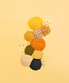 Legumes from Indian cuisine
