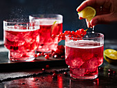 Cranberry Crush Cocktails