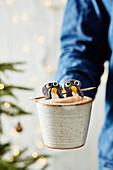 Penguin Marshmallows
