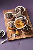 Kernige Möhren-Muffins mit Ingwer