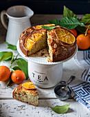 Oranges and Orange Poppy Seed Yogurt Cake