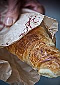 Fresh baked croissant (Paris)