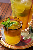 Indian passion fruit punch
