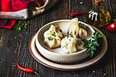 Khinkali (filled dumplings, Georgia)
