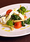 Casarecce with stem cabbage