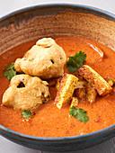 Indian tofu masala curry (vegan)