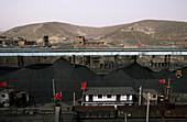 Coal mine, China