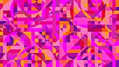 Geometric abstract pattern, illustration