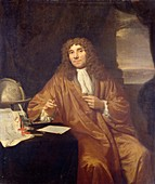 Anton Van Leeuwenhoek, Dutch microbiologist