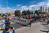 Protests against government tax reforms, Colombia