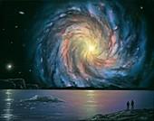 Galaxy, illustration