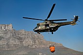 SAAF Atlas Oryx Helicopter fighting fire