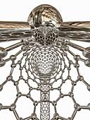 Inside of a nanoring, illustration