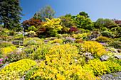 Holehird Gardens, Windermere, England, UK