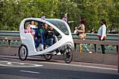 Electric rickshaw bike