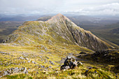 Stob Dearg, Buchaille Etive Mor ridge, Scotland, UK