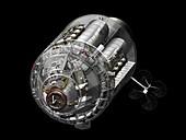 Apollo CSM spacecraft, illustration