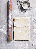 How to make buttery puff pastry