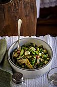 Vignarola (traditional vegetable stew)