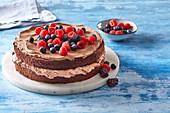 Best chocolate tart (gateau)