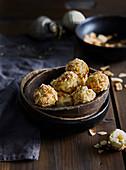 Non-baked coconut small balls