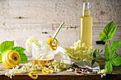 Lemon and Elderflower syrup