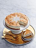 Amaretto Ginger Cheesecake