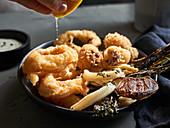 Calamari - Fried squid rings