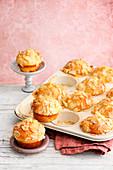 Buttery almond muffins