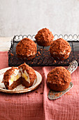 Maulwurf-Muffins (Schoko-Bananen-Kuchen)