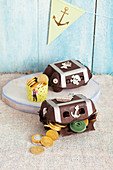 handmade treasure chests for a pirate party