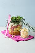 Tortellini and rocket salad 'To Go'