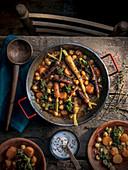 Kichererbsen-Karotten-Eintopf