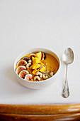 Autumnal pumpkin bowl
