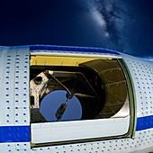 SOFIA airborne observatory telescope