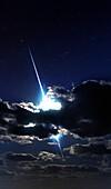 Meteor trace