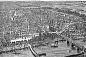 Cologne, Germany, 19th century illustration