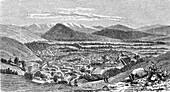 Kabul, Afghanistan, 19th century illustration