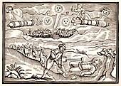Hartford meteorite fall, 1628