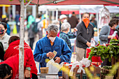 Farmer's market during Covid-19 outbreak