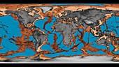 Draining global oceans