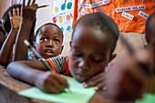 Schoolchildren, Lamu, Kenya