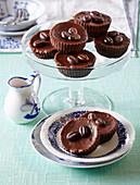 Chocolate coffee tartletts