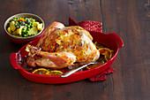 Christmas Roast Turkey with Stuffing