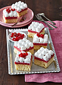 Red currant slices